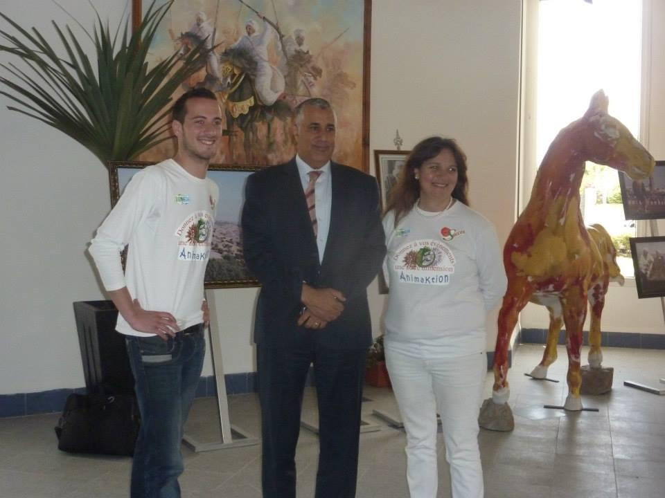 Avec Mouad Jamai, Gouverneur de la province d'El Jadida