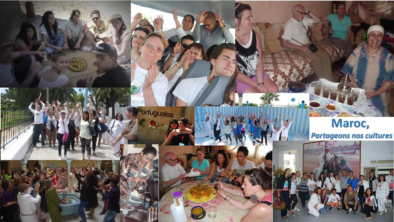 """Voyage """"Partageons nos cultures"""" au Maroc"""