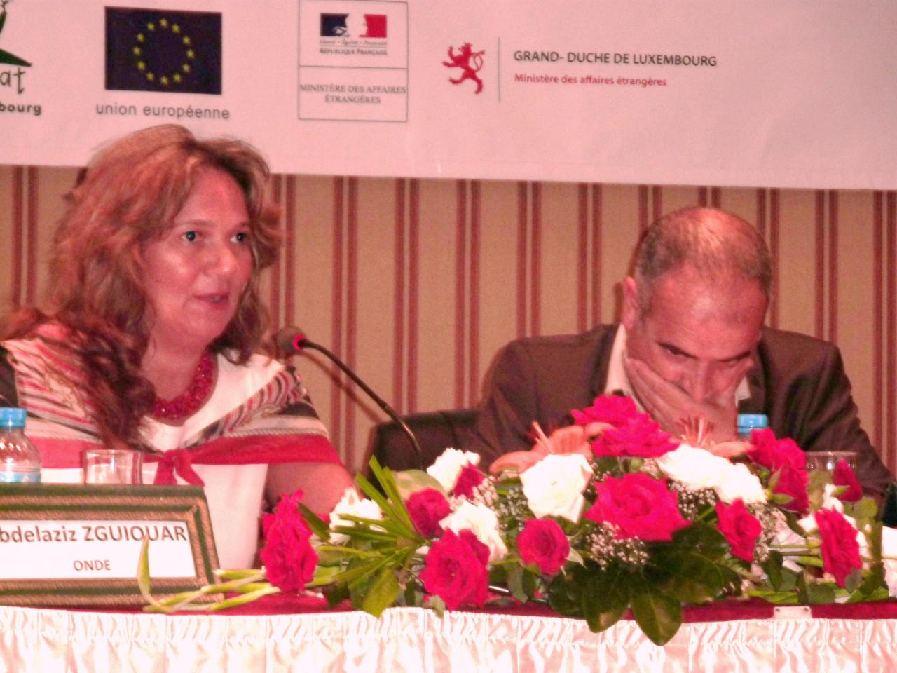 Conférence débat sur la lutte contre la violence enfantine, Maroc