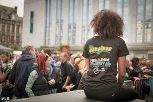 Freedom Festival, no violence we dance